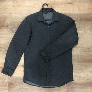 Antony Morato quilt button up light jacket